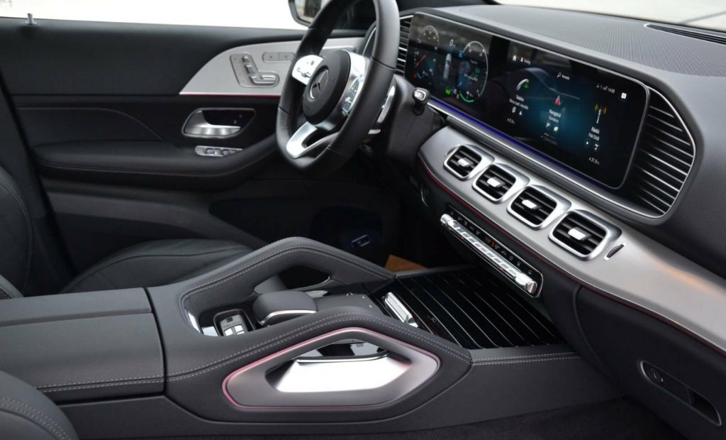 Mercedes-Benz GLE SUV 350de 243kw, PANORAMA